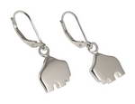 Handcrafted sterling silver Small Queen Buffalo